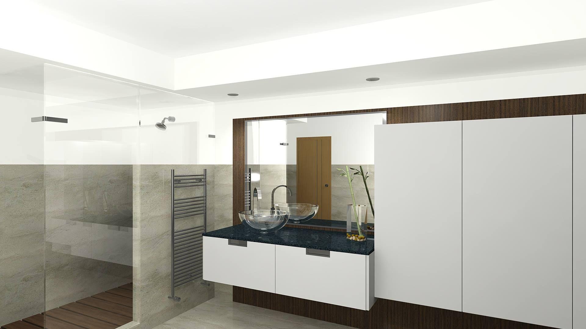 Encimeras mármol baño Almería
