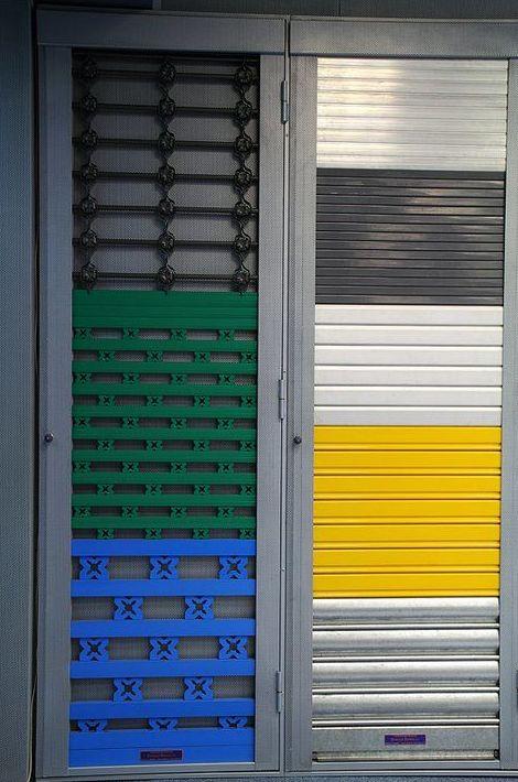 Más de 60 modelos distintos de cierres, persianas y rejas metálicas de seguridad