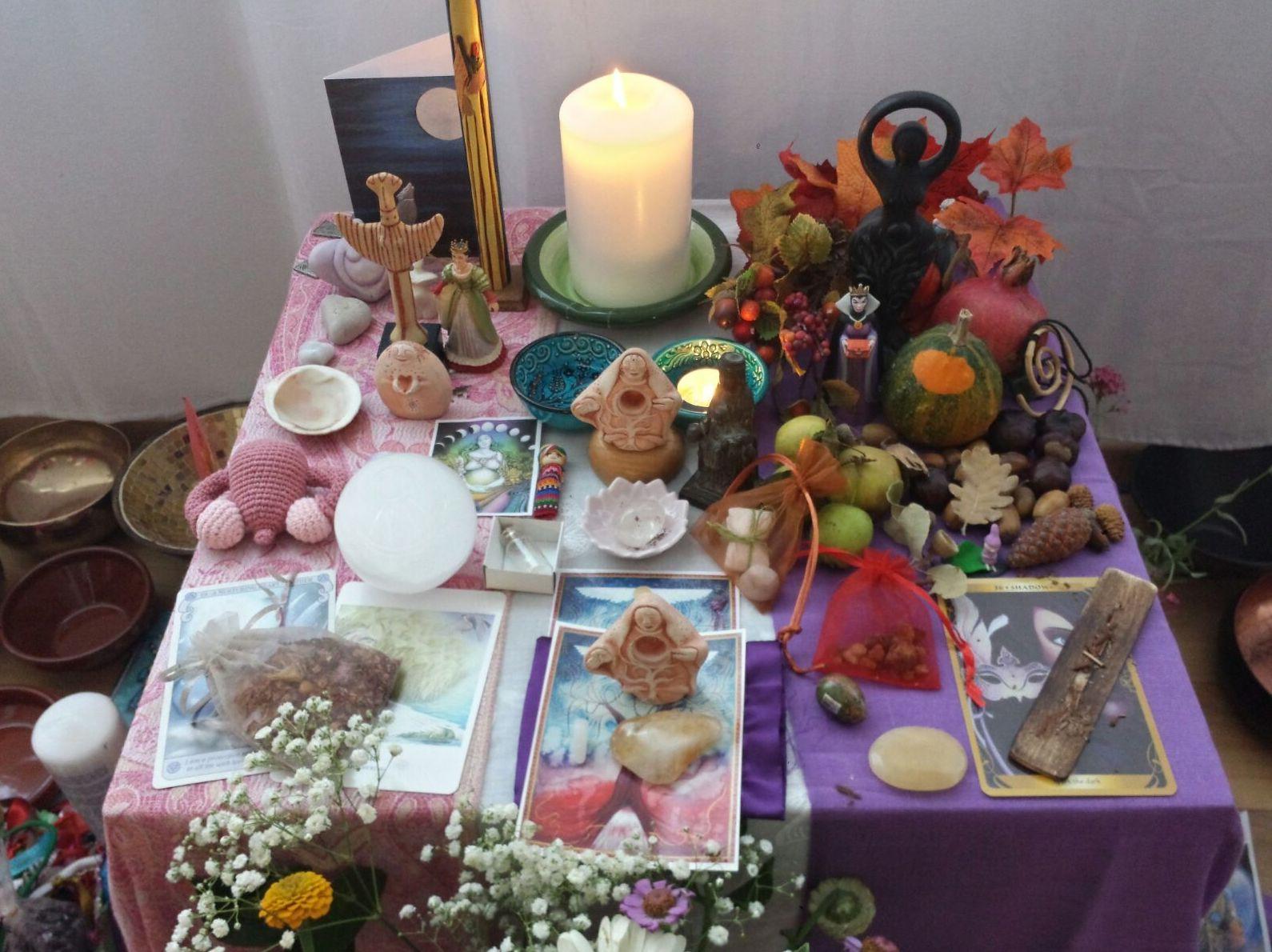 El Altar de la Bendición de útero