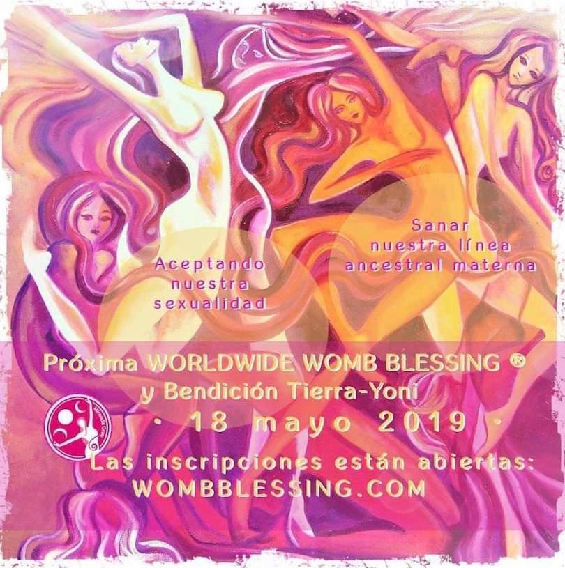 BENDICIÓN MUNDIAL DE ÚTERO PRÓXIMA FECHA: 18 DE MAYO: TERAPIAS Y EVENTOS de Todo Es Vibra