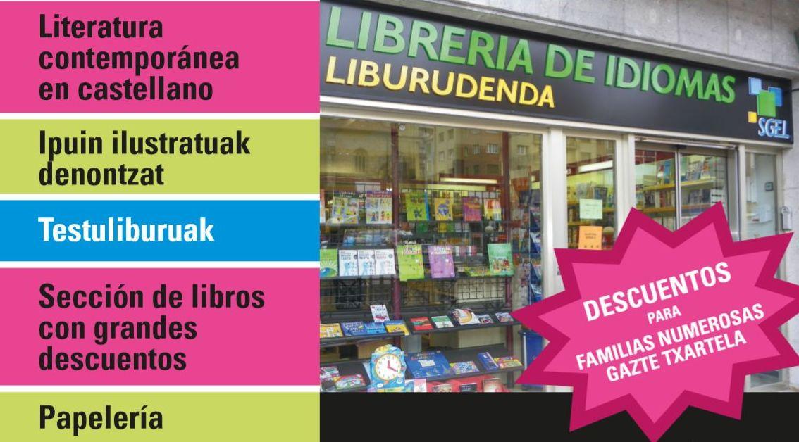 Librería de Idiomas Liburudenda