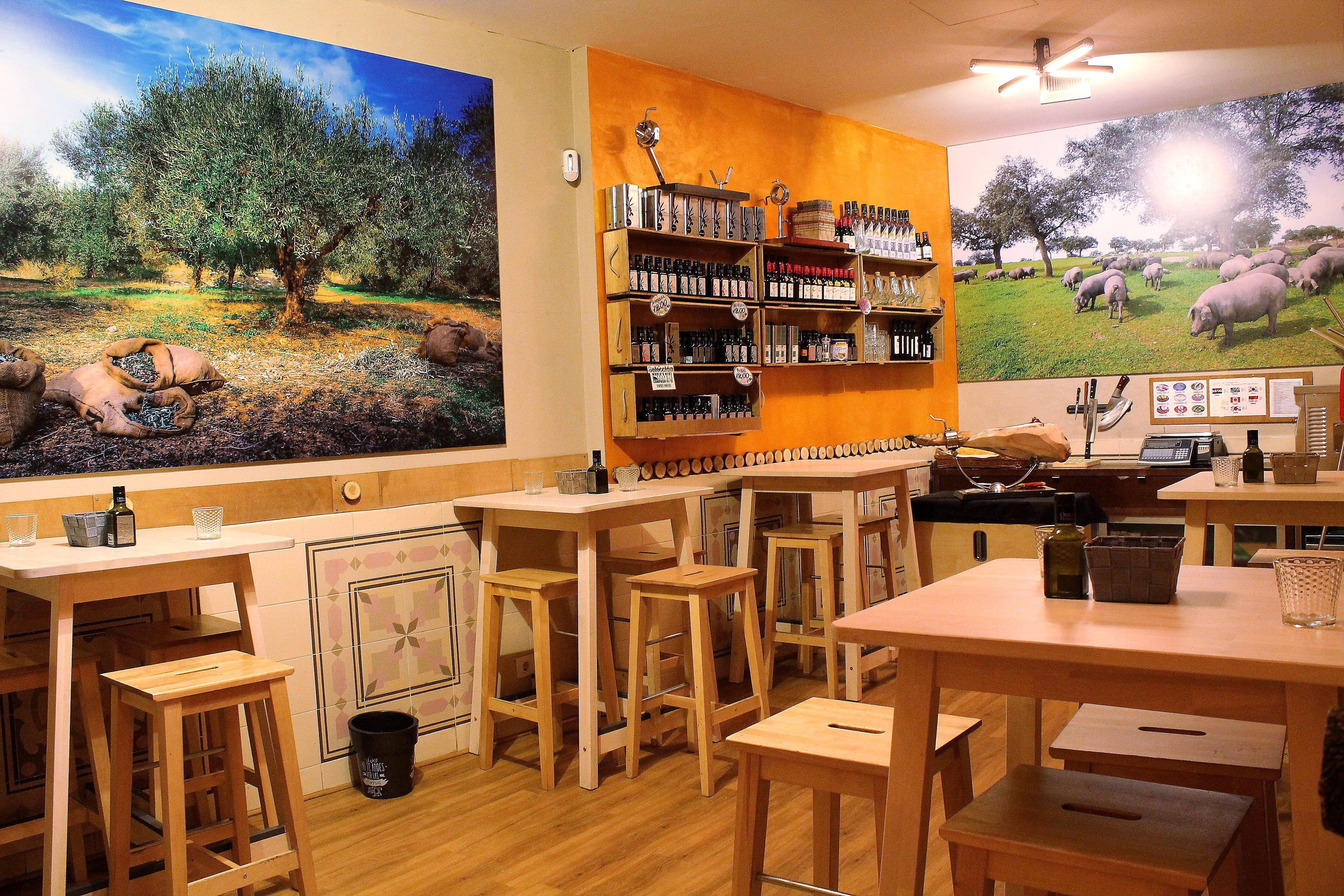 Degustación de productos ibéricos en Madrid centro