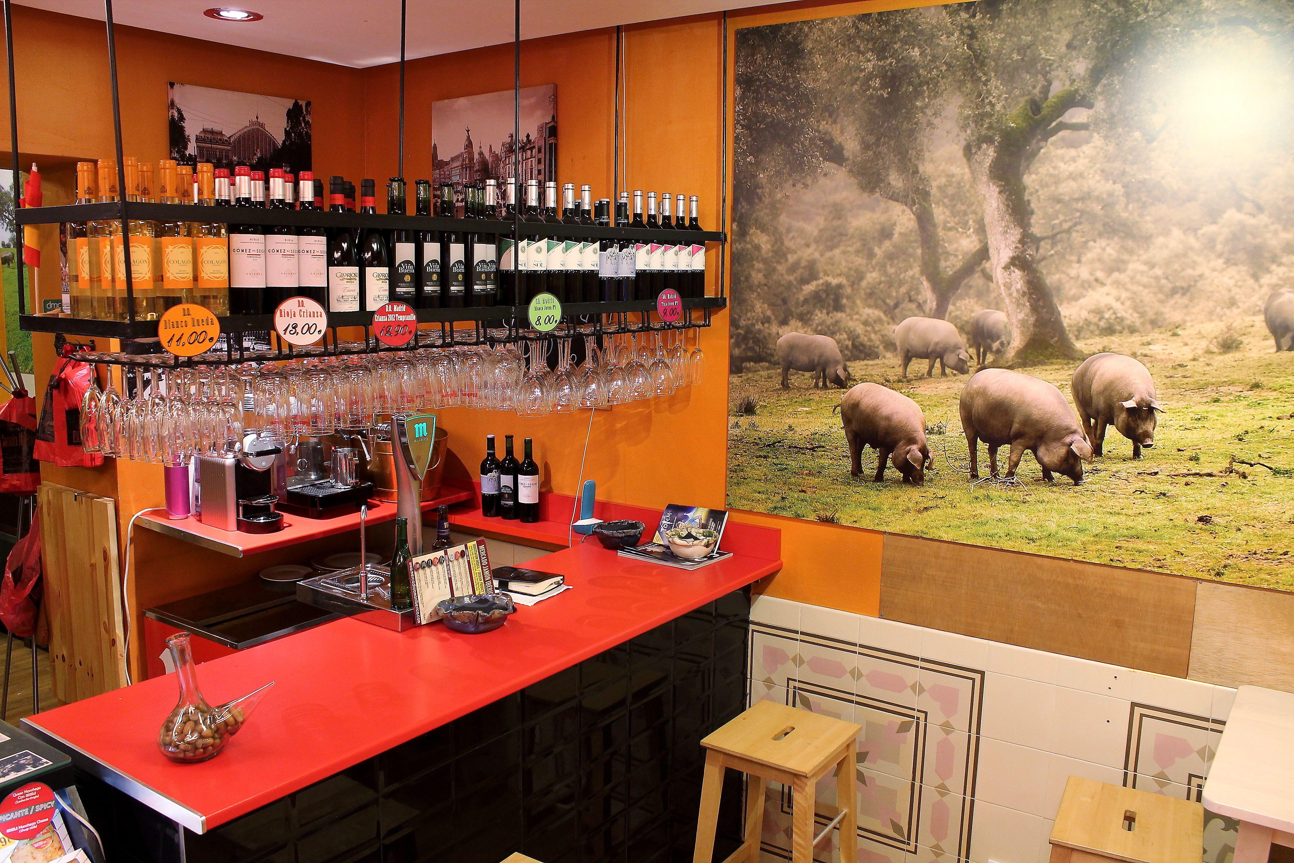 Tienda delicatessen en Madrid centro