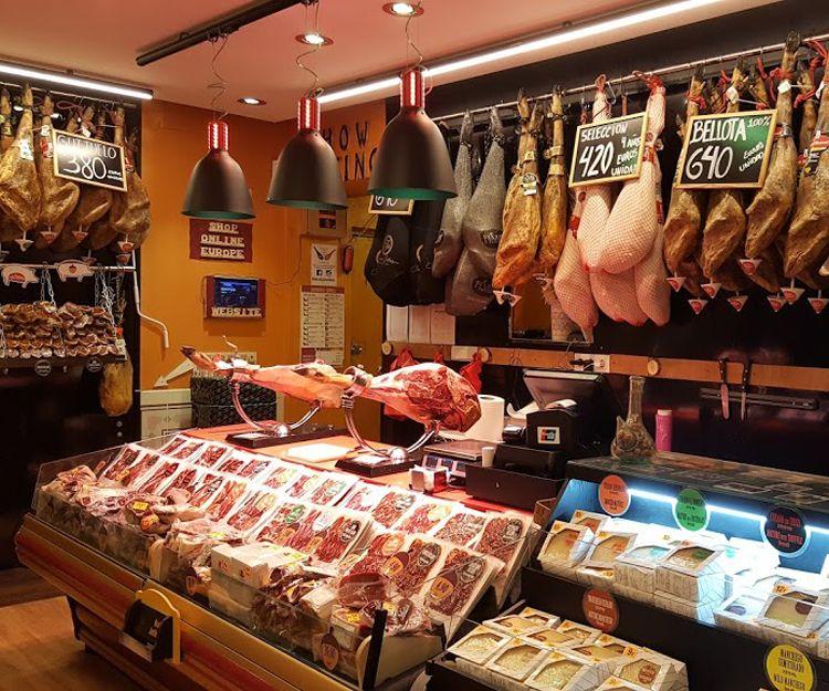 Embutidos ibéricos en Madrid