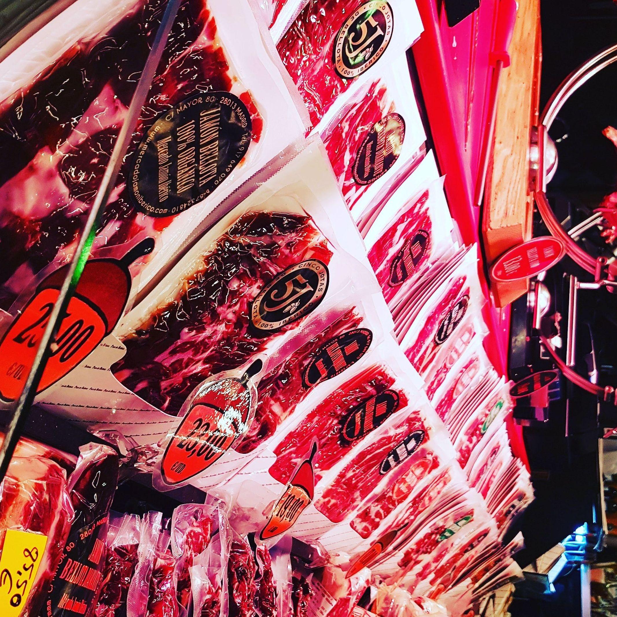 Donde comprar jamón en Madrid