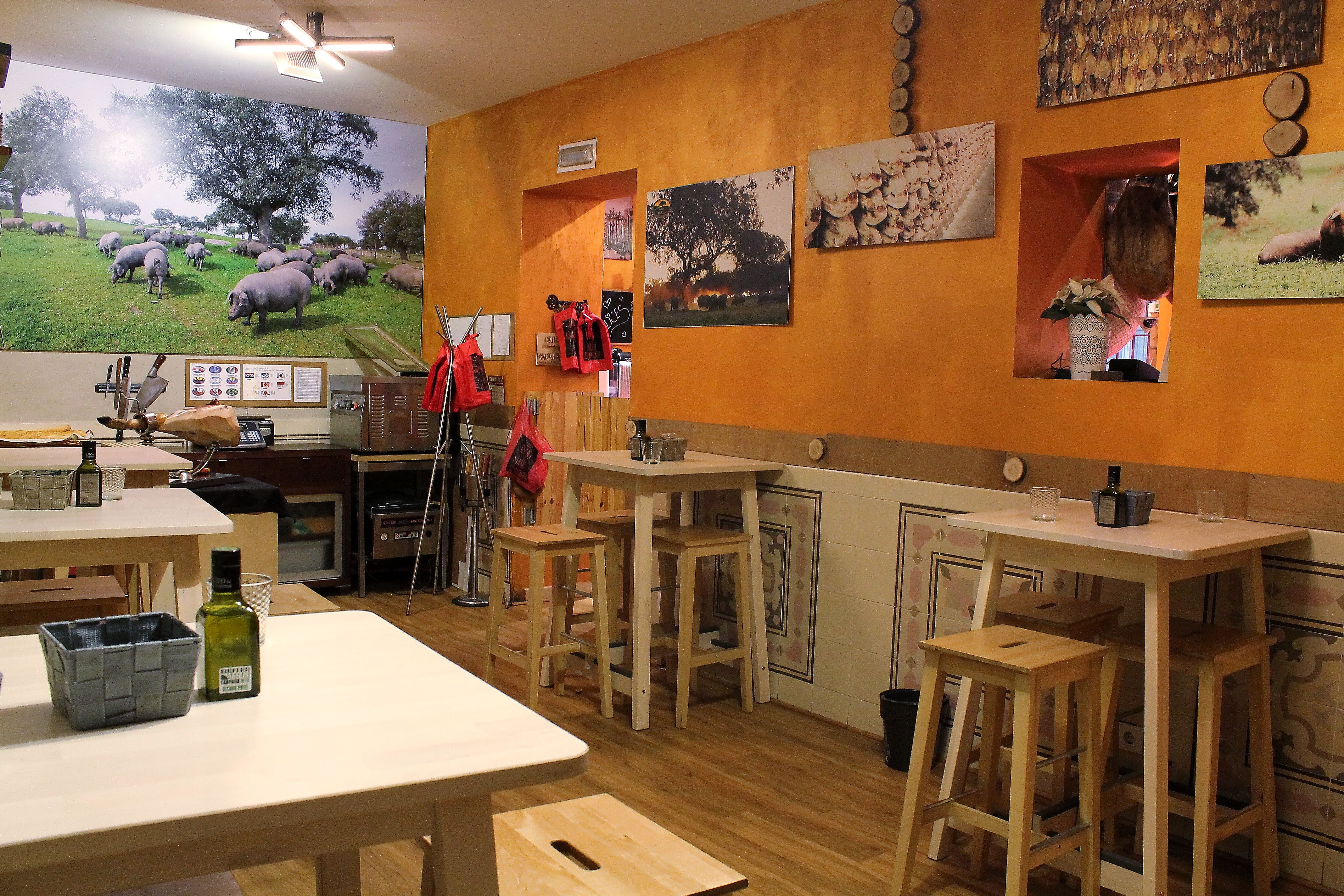 Mejor tienda para comprar jamón en Madrid centro