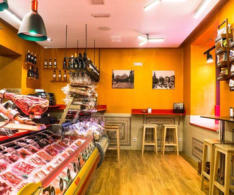 Tienda de embutidos ibéricos en Madrid