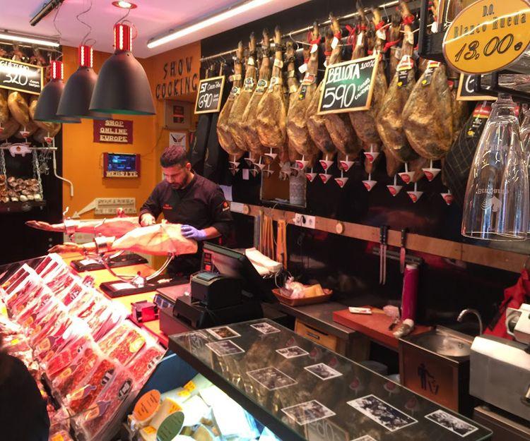 Embutidos ibéricos de bellota en Madrid