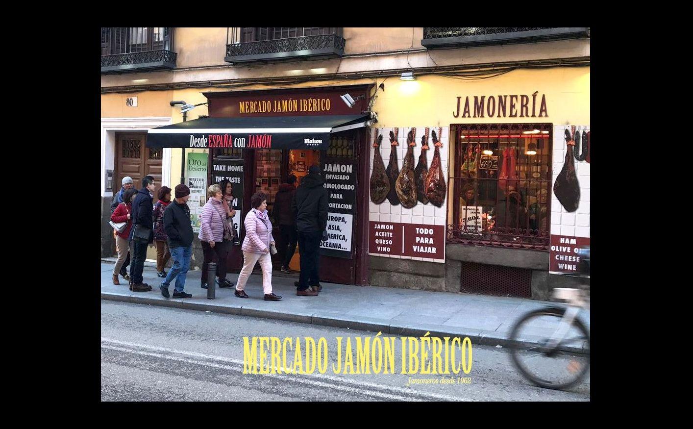 The best ham Madrid