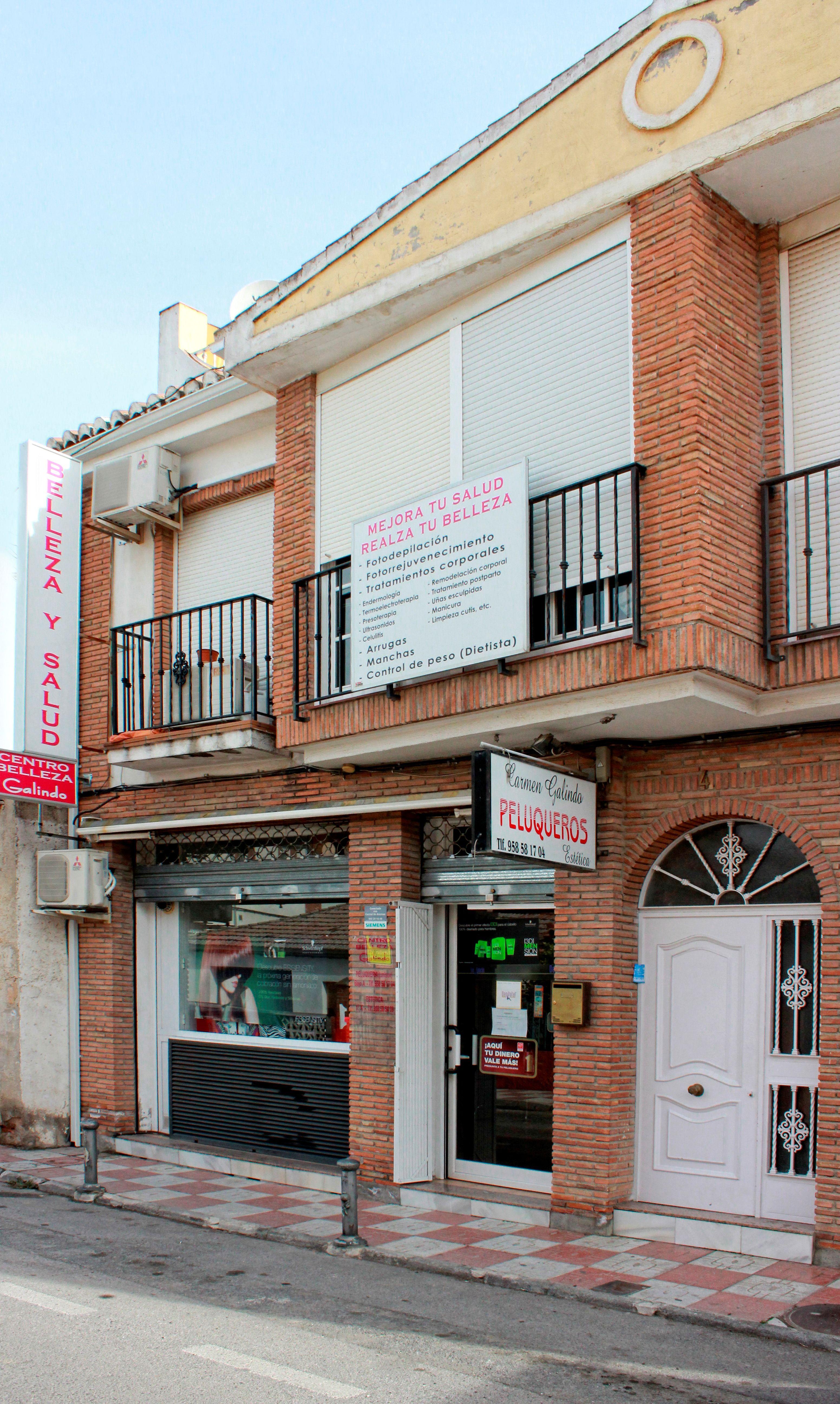 tratamientos de estética y peluquería Granada
