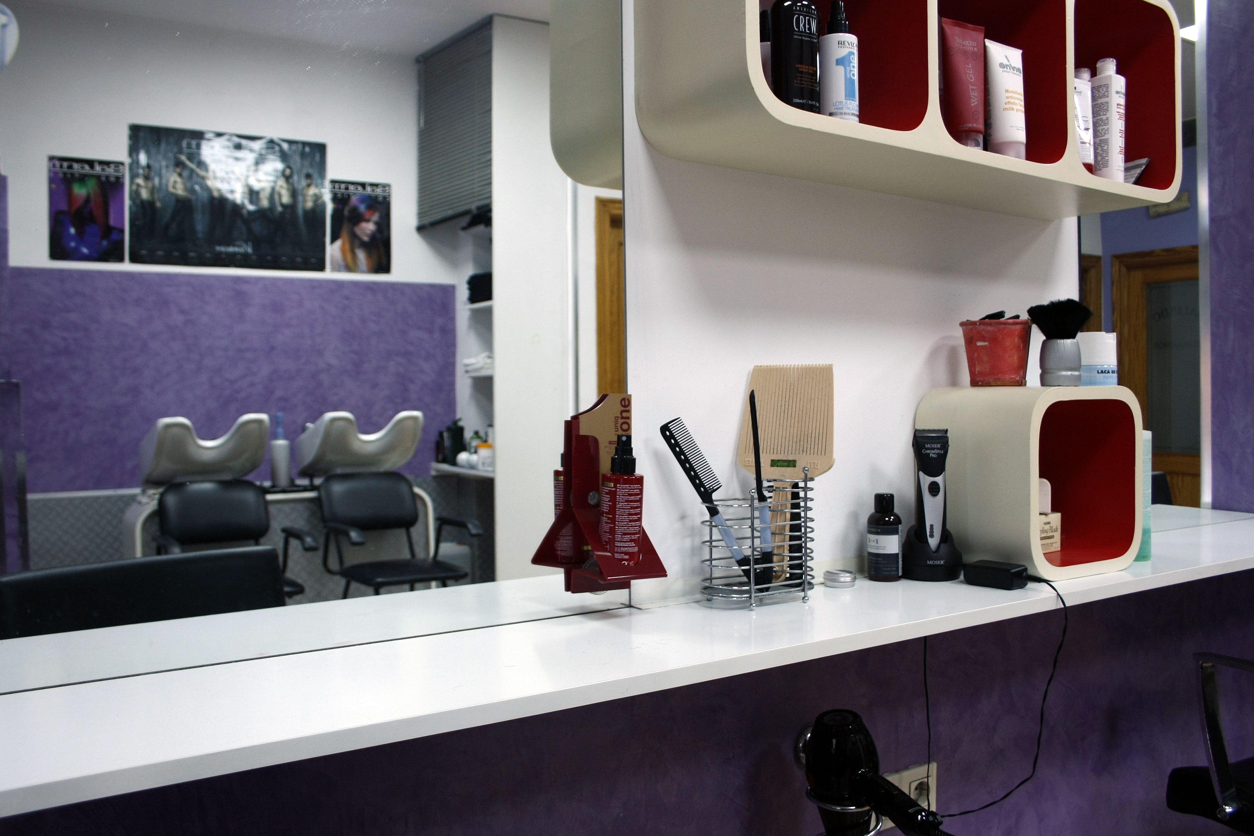 Puesto peluquería
