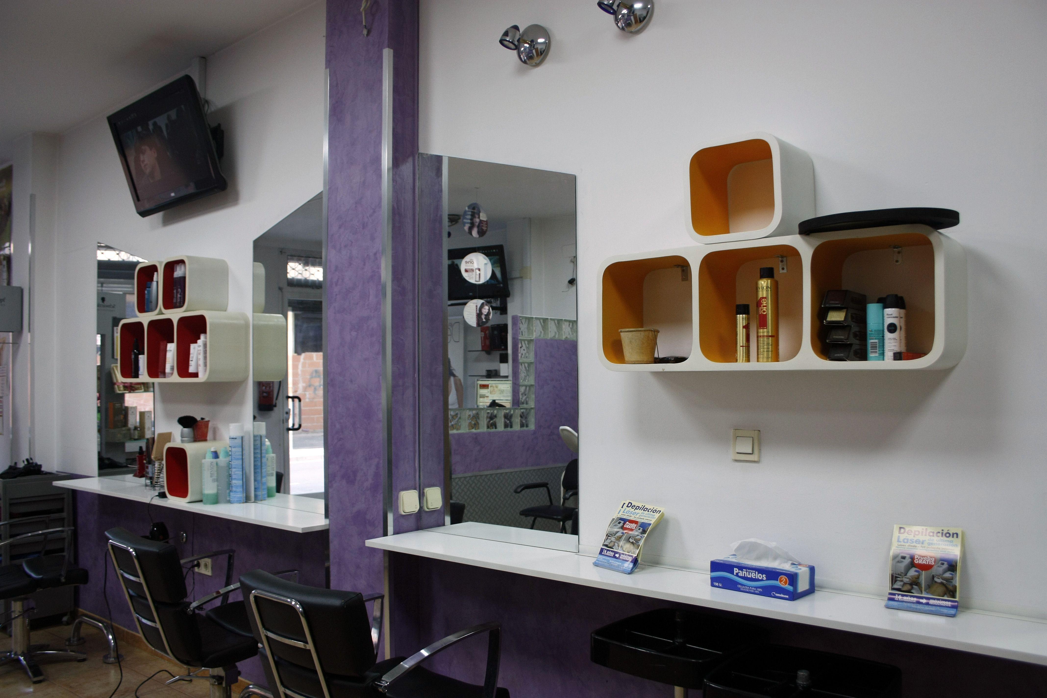 Zona peluquería