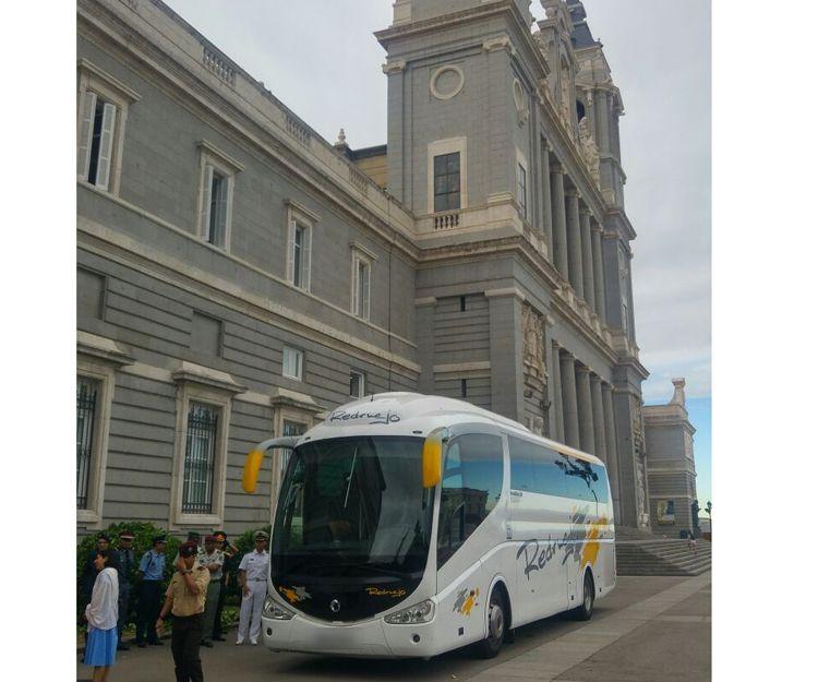 Visita turística a Madrid con nuestros autocares