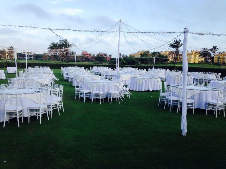 Foto 33 de Alquiler de sillas, mesas y menaje en Jerez de la Frontera | Jedal Alquileres