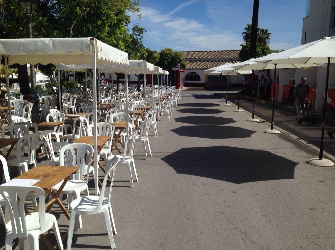 Carpa 2.50 X 2.50 metros, sillas y mesas: Catálogo de Jedal Alquileres