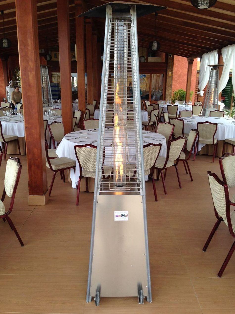 Estufa calor pirámide: Catálogo de Jedal Alquileres