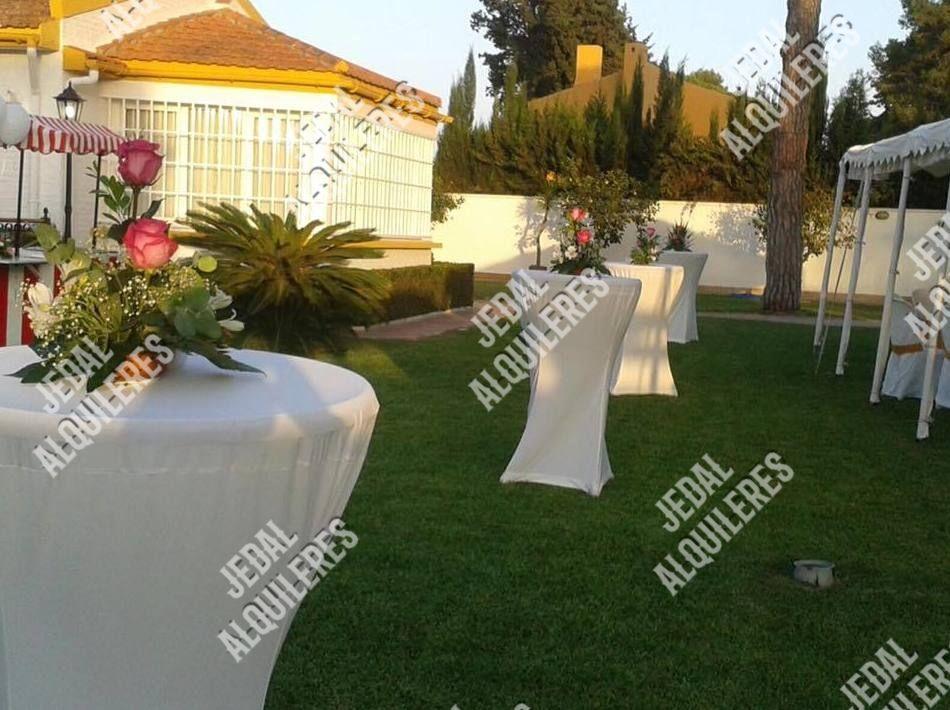 Alquiler de sillas y mesas para bodas en Jerez de la Frontera