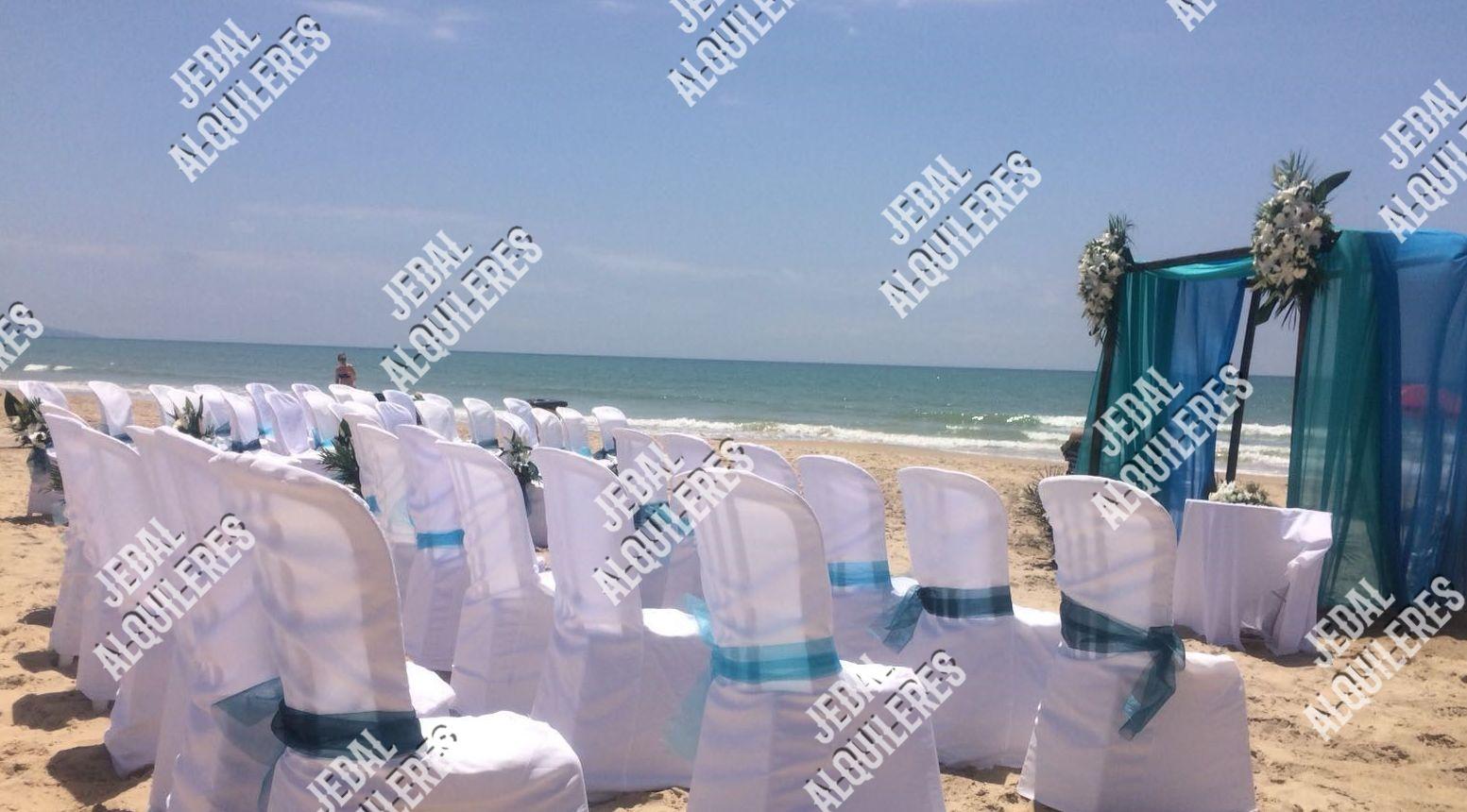 Alquiler de sillas para bodas en Jerez de la Frontera