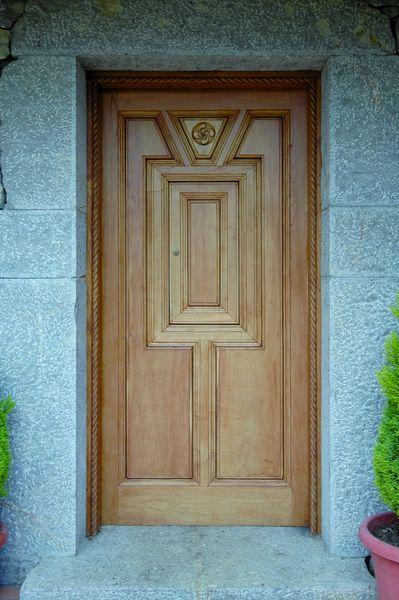 Pe 00101 puerta exterior catalogo de productos de carpinter a b p cu tara ib ez - Puertas exterior asturias ...