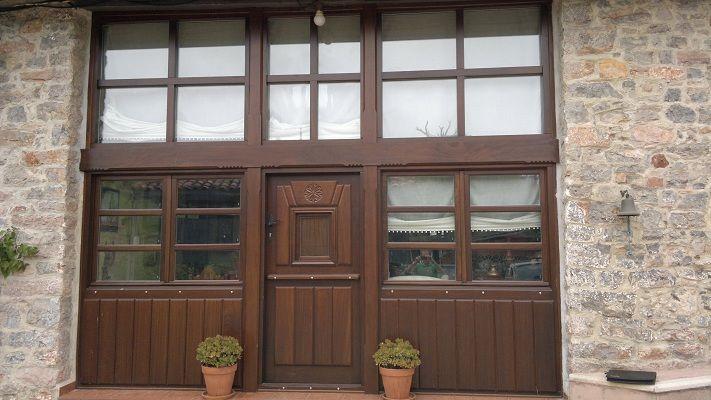 Puerta Exterior y Galería