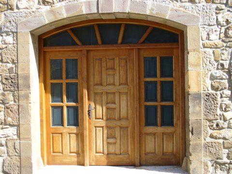 Pe 00115 puerta exterior catalogo de productos de - Puertas exterior asturias ...