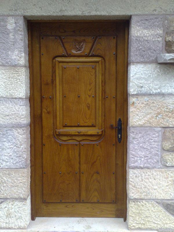 Pe 00127 puerta exterior catalogo de productos de - Puertas exterior asturias ...
