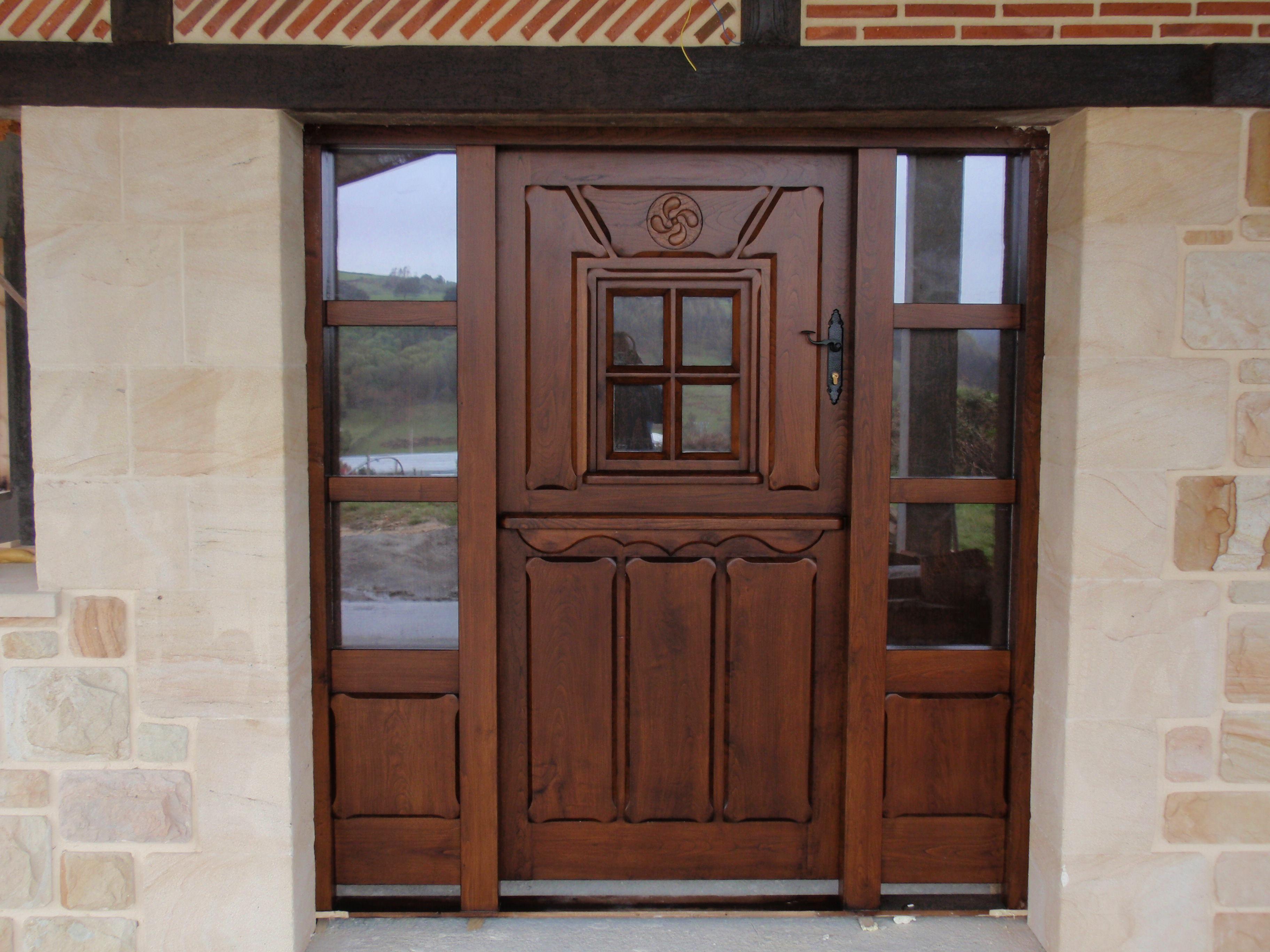 Pe 00128 puerta exterior catalogo de productos de carpinter a b p cu tara ib ez - Puertas exterior asturias ...