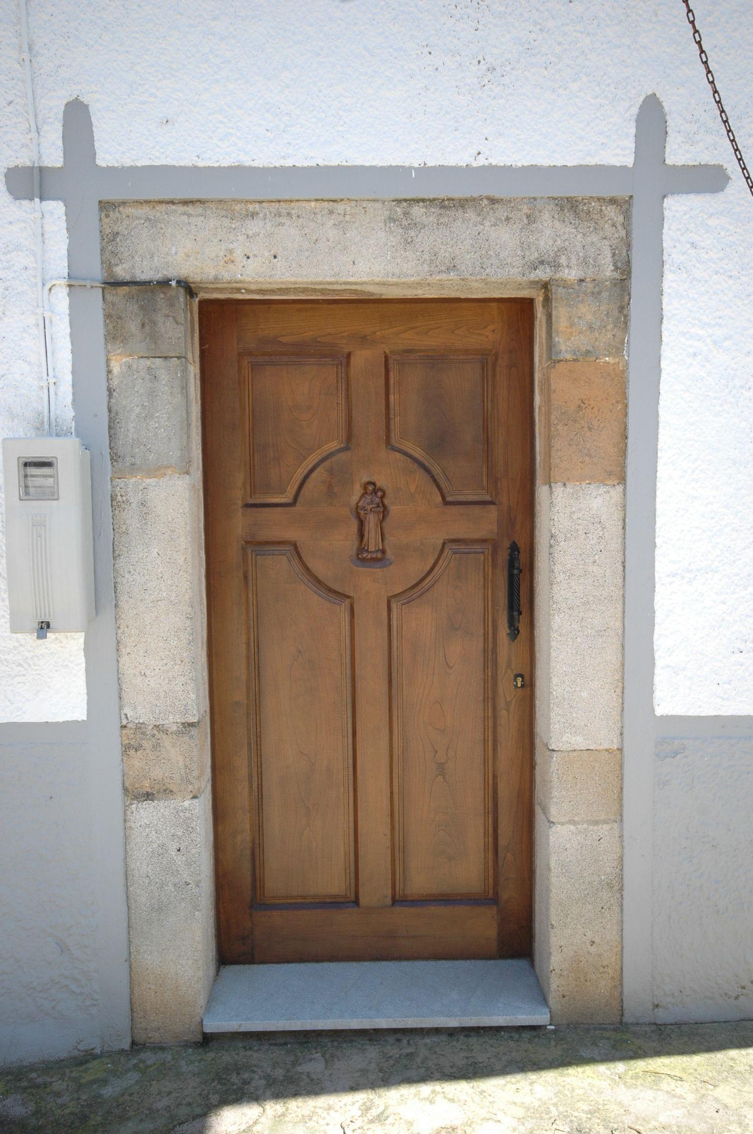 Pe 00132 puerta exterior catalogo de productos de carpinter a b p cu tara ib ez - Puertas exterior asturias ...