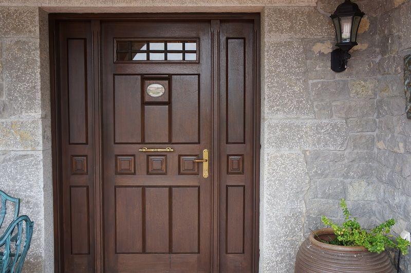 Pe 00146 puerta exterior catalogo de productos de carpinter a b p cu tara ib ez - Puertas exterior asturias ...