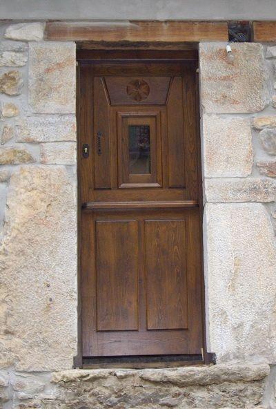 Pe 00170 puerta exterior catalogo de productos de carpinter a b p cu tara ib ez - Puertas exterior asturias ...