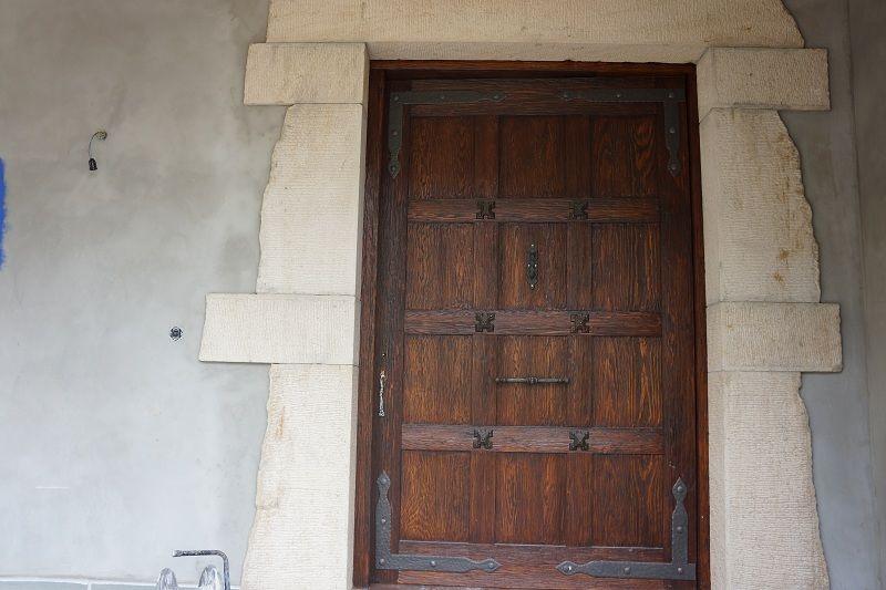 Pe 00176 puerta exterior catalogo de productos de carpinter a b p cu tara ib ez - Puertas exterior asturias ...