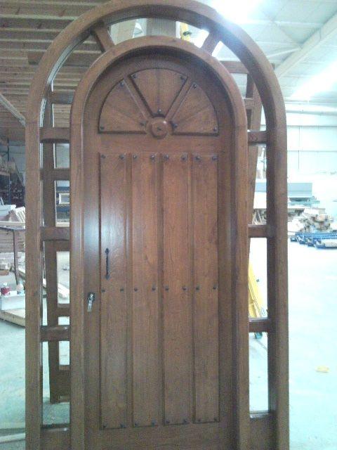 Pe 00178 puerta exterior catalogo de productos de carpinter a b p cu tara ib ez - Puertas exterior asturias ...