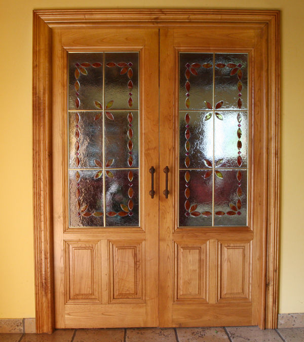 Puerta Interior Doble con Cristales