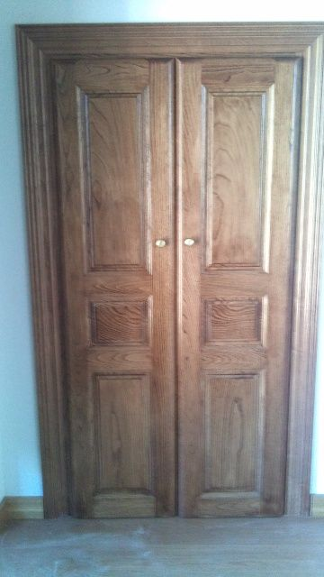 Puerta Interior Doble Ciega