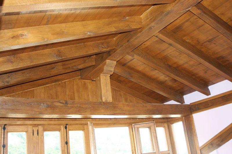 Tejados de madera laminada latest beautiful construccin de la techumbre construccin de madera - Estructuras de madera para tejados ...