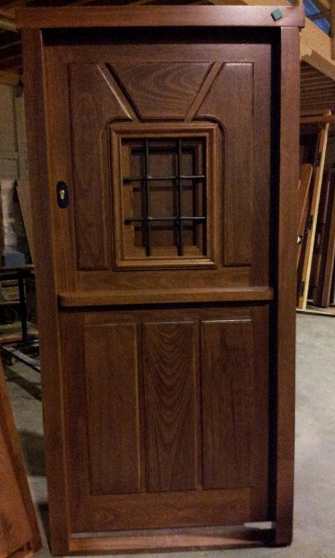 Pe 00174 puerta exterior catalogo de productos de carpinter a b p cu tara ib ez - Puertas exterior asturias ...