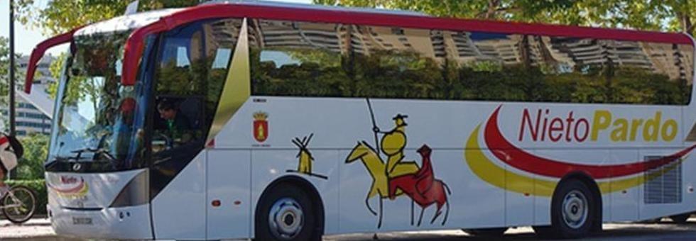 Gama de autocares: Servicio  de Autocares Nieto Pardo
