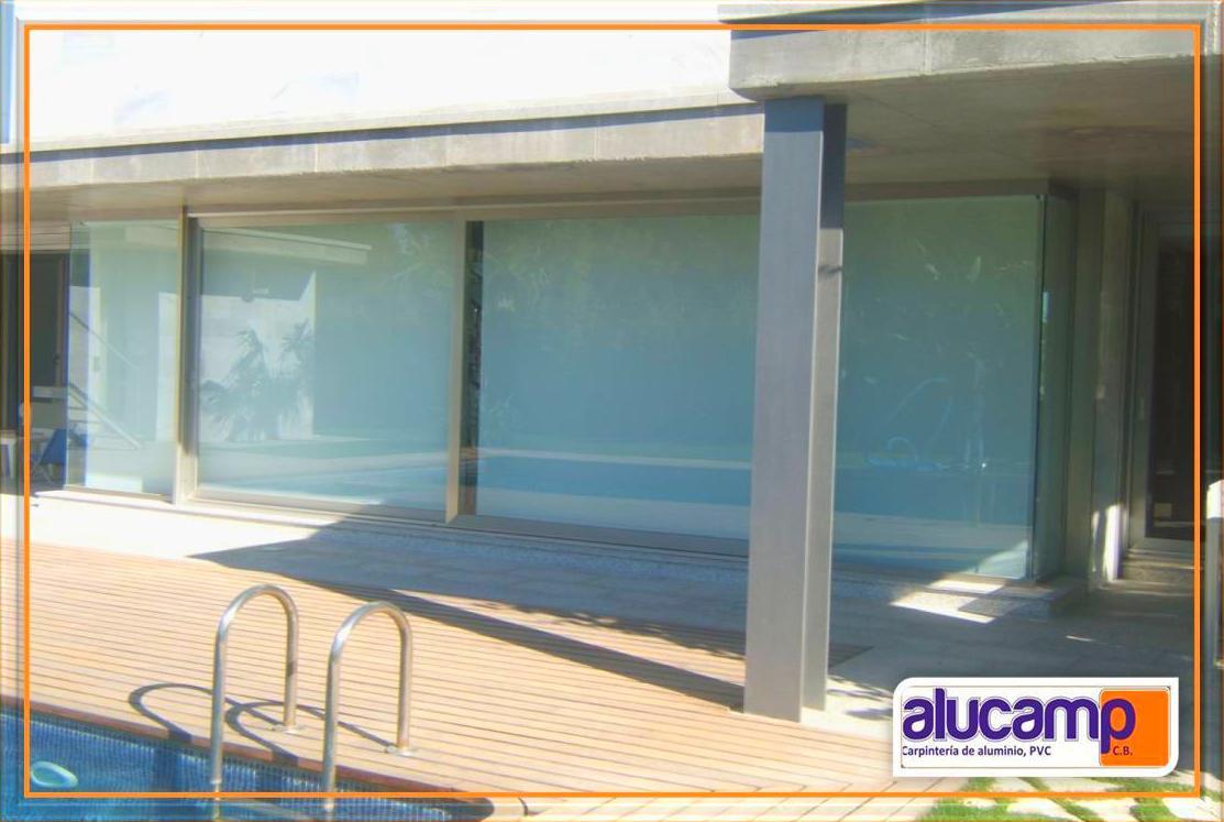 Foto 9 de Carpintería de aluminio, metálica y PVC en Aldaia | Alucamp, C.B.