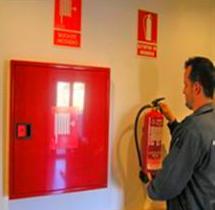 Mantenimiento de sistemas contra incendios