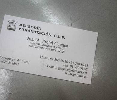 Formularios online: Servicios de Asesoría y Tramitación, S.L.P.