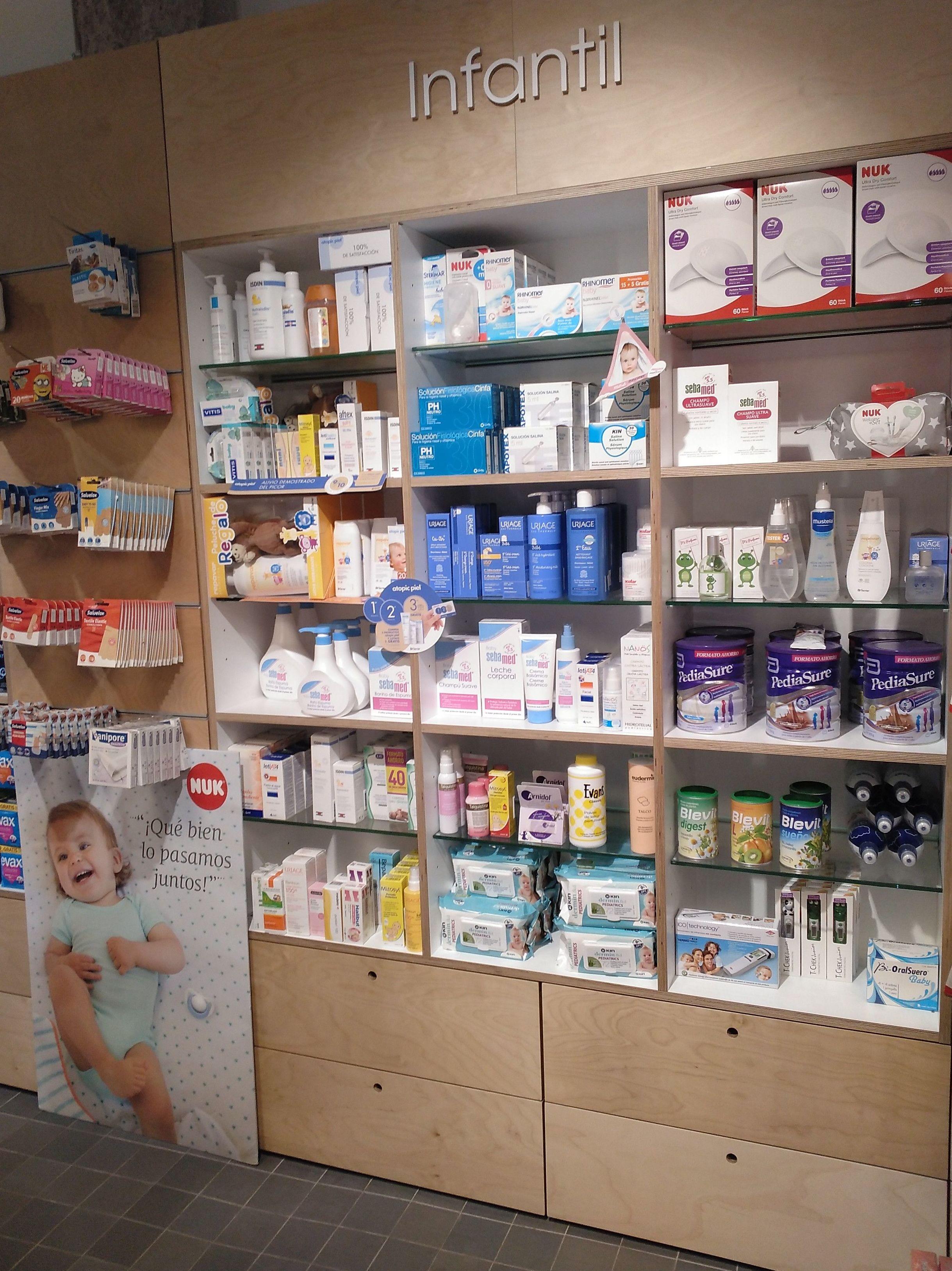 Productos infantiles: Productos y servicios de Farmacia Zabala Peña