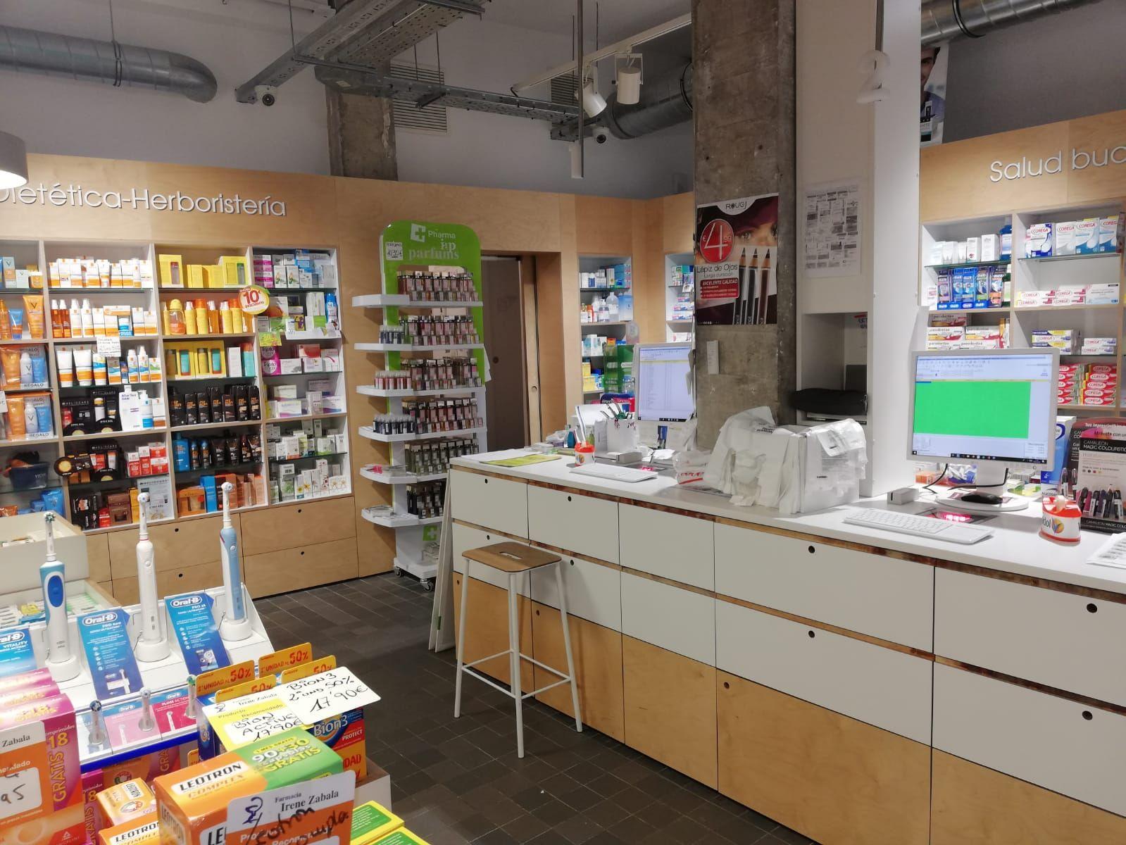 Farmacia con productos de dietética en Barakaldo