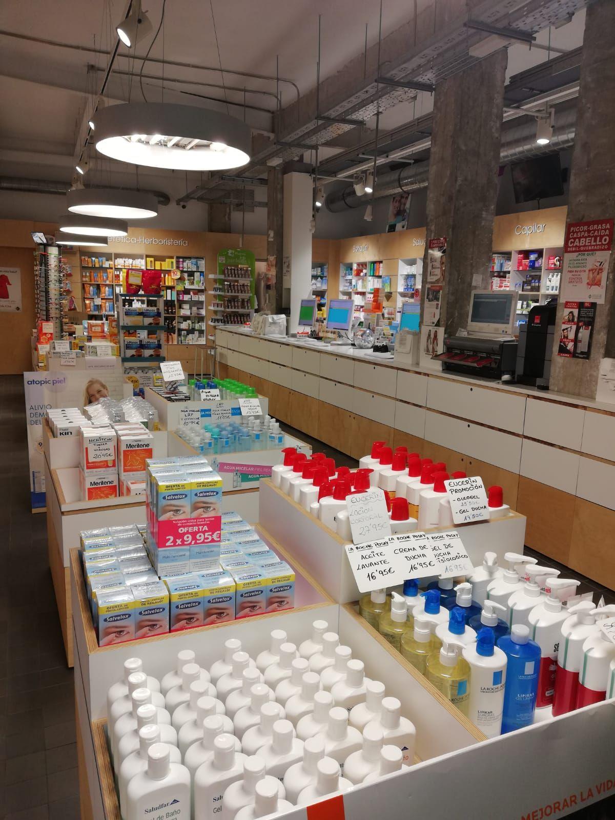 Productos de farmacia y parafarmacia a buenos precios