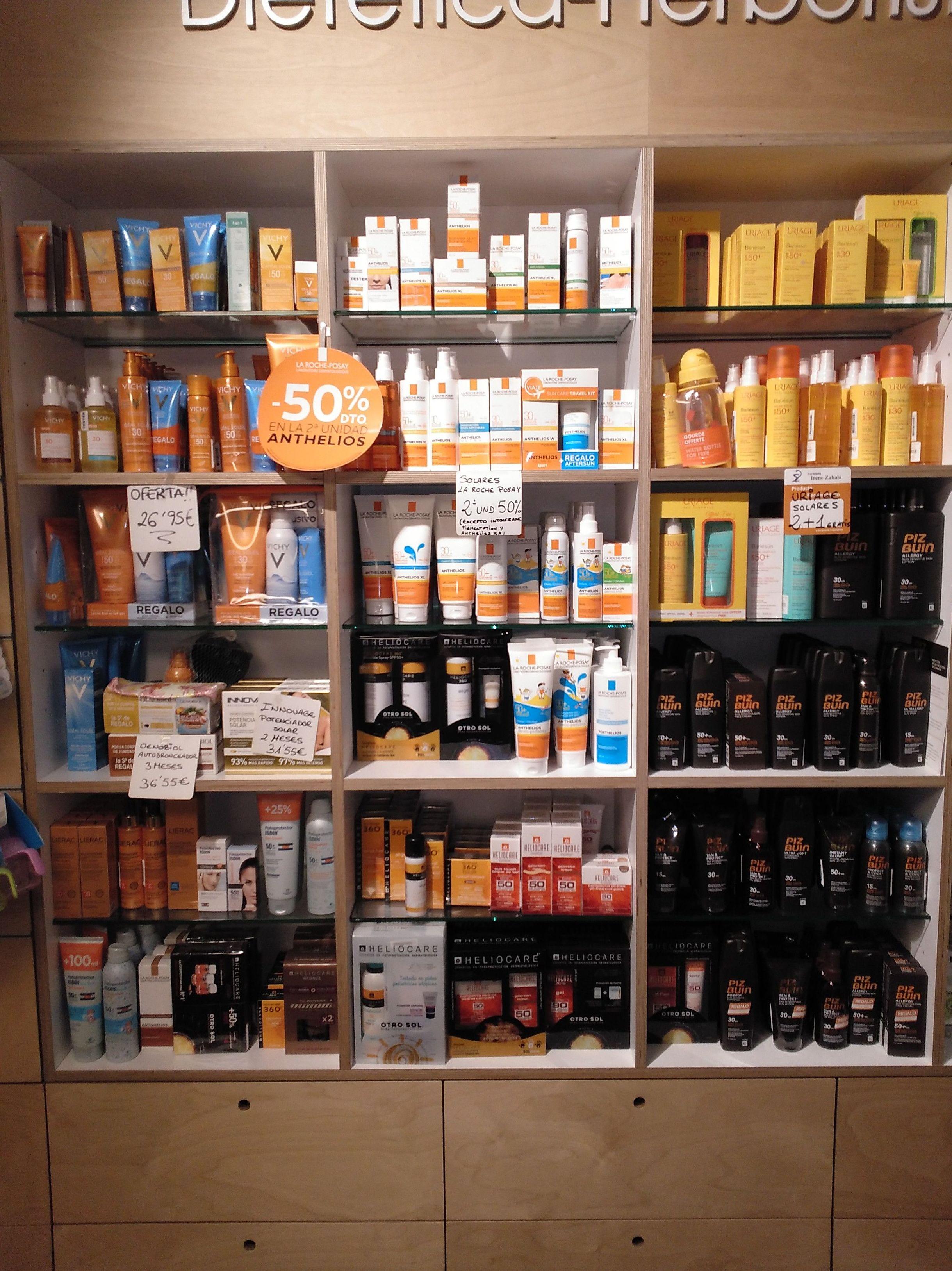 Cosmética: Productos y servicios de Farmacia Zabala Peña