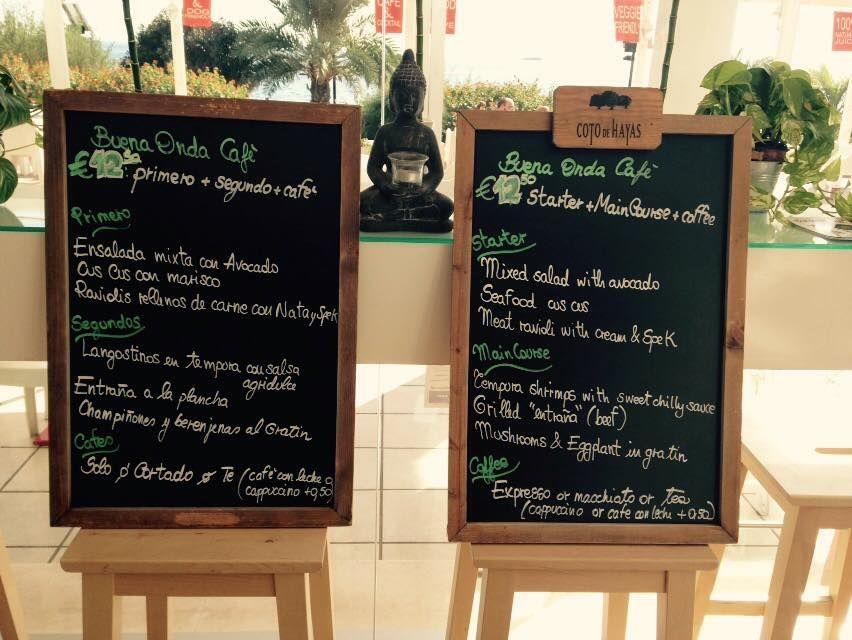 Restaurante con menú del día en Ibiza