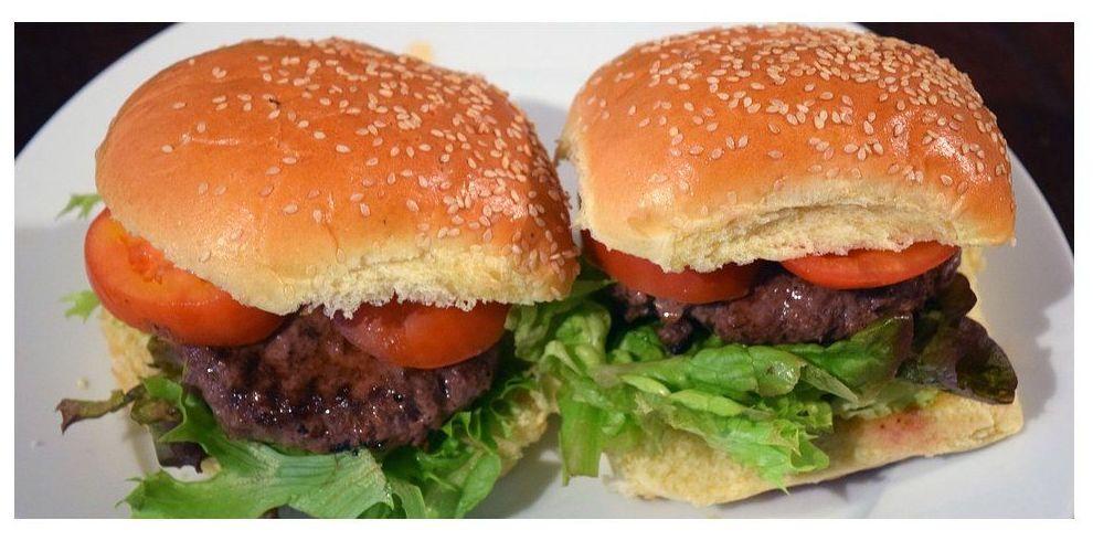 Propiedades positivas de comer hamburguesas