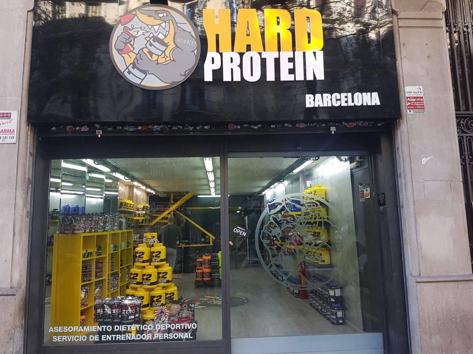 Tienda de nutrición deportiva en Barcelona