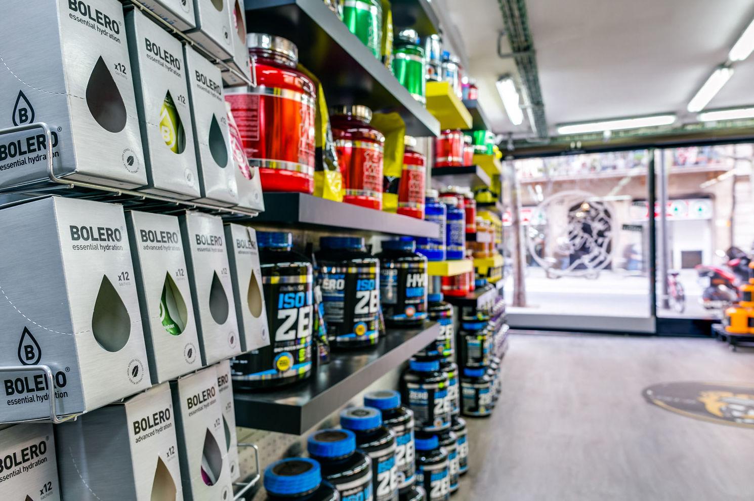 Tienda de suplementos deportivos en Eixample