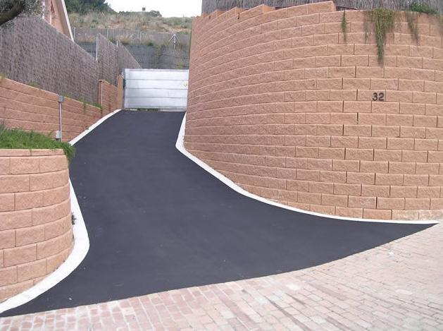 Rampas de acceso: Obras realizadas de Paviasfalt