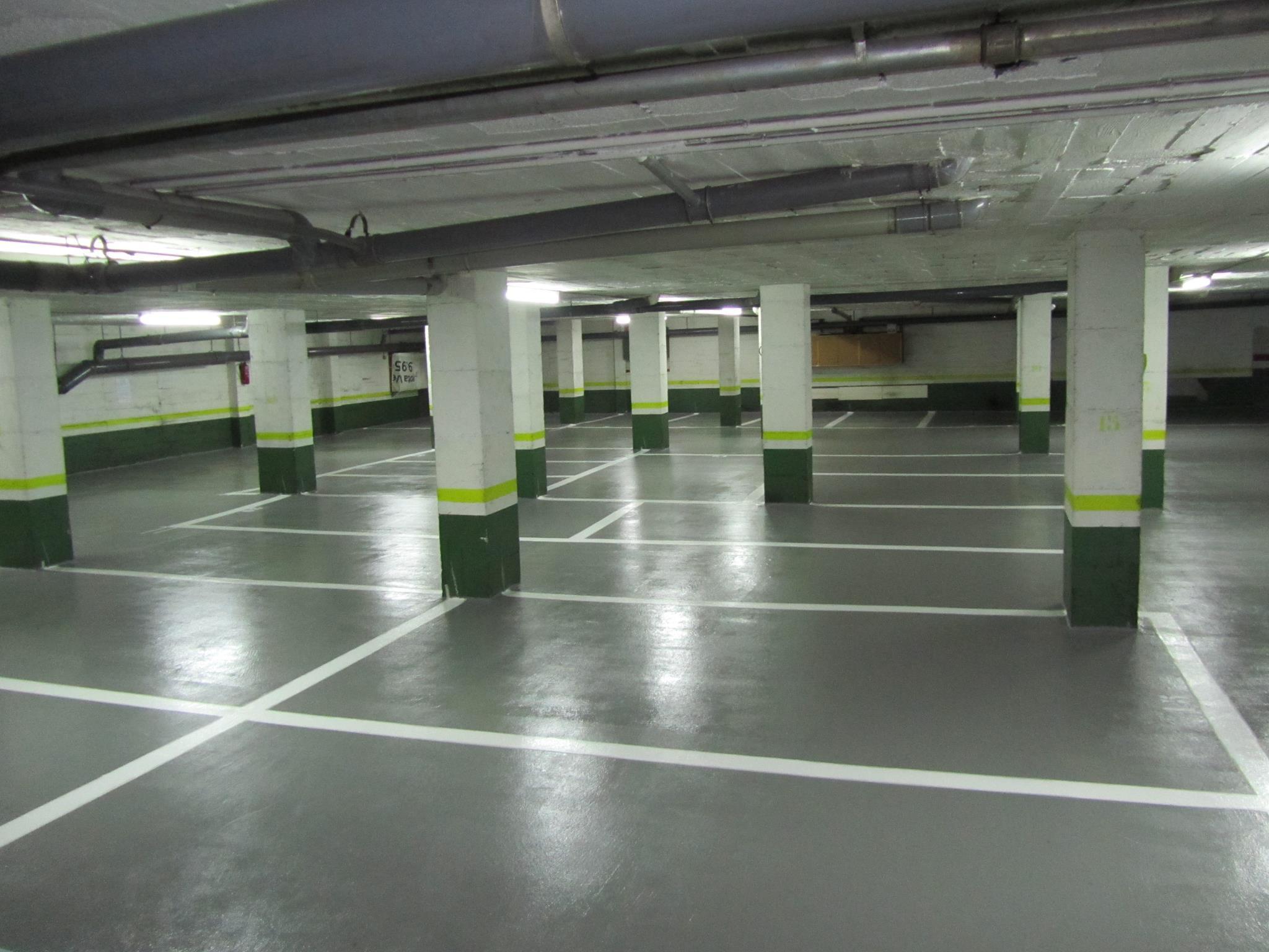 Pavimentación de garajes